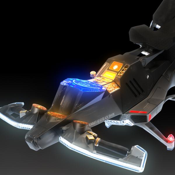 Original 3DCG Movie -airbike-