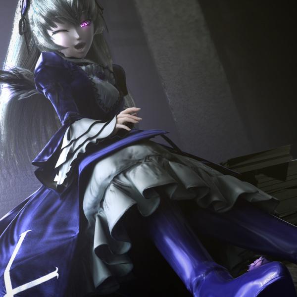 水銀燈の今宵もアンニュ~イ[3DCG special] Image06